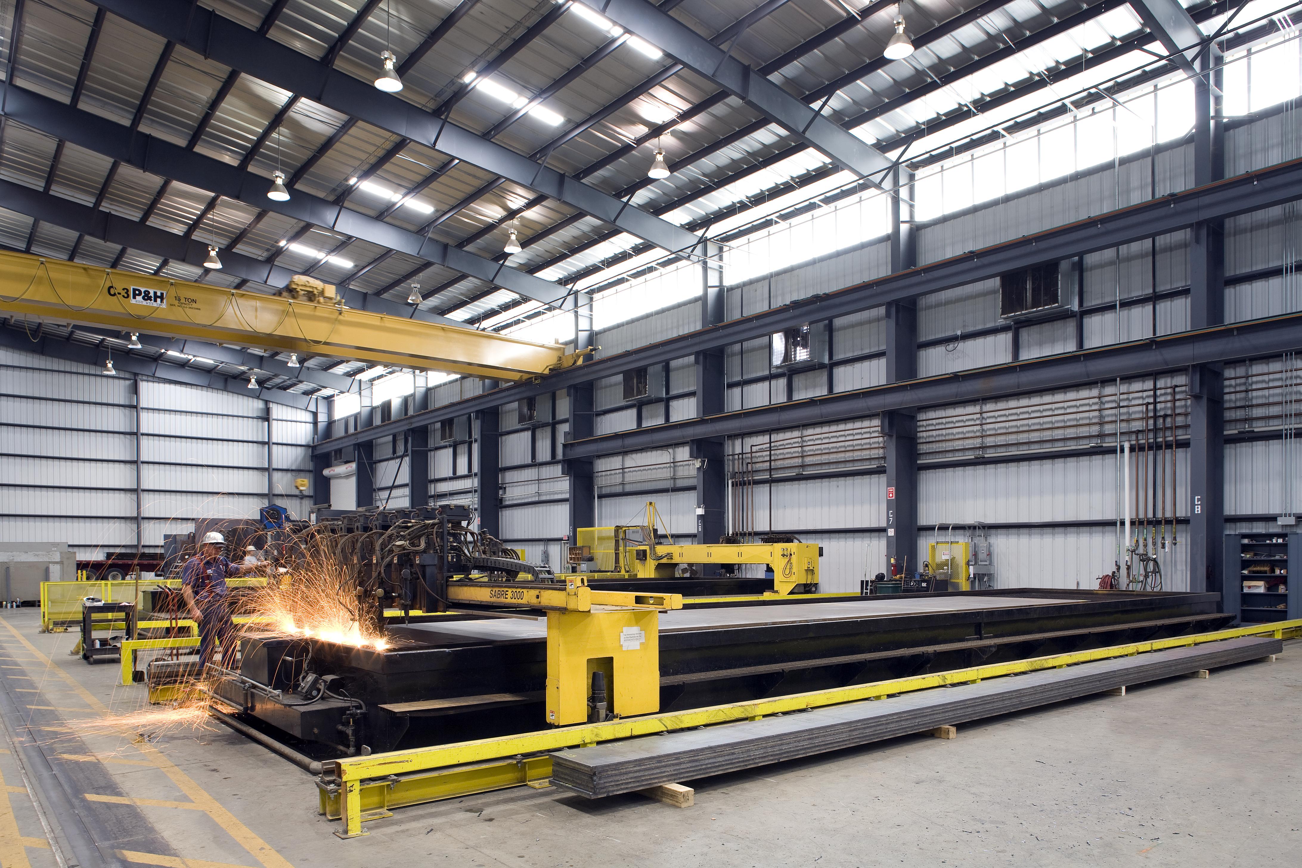 Industrial facility interior photo