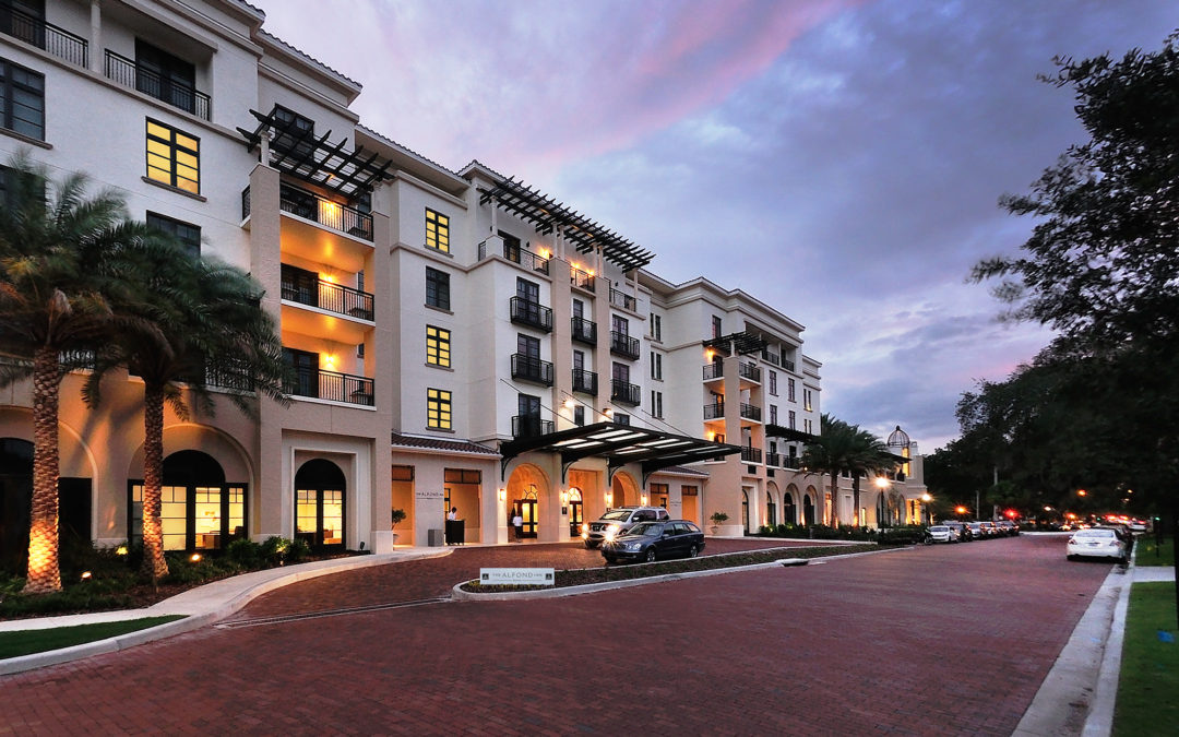 Award Winning Electrical Contractor for Alfond Inn Project