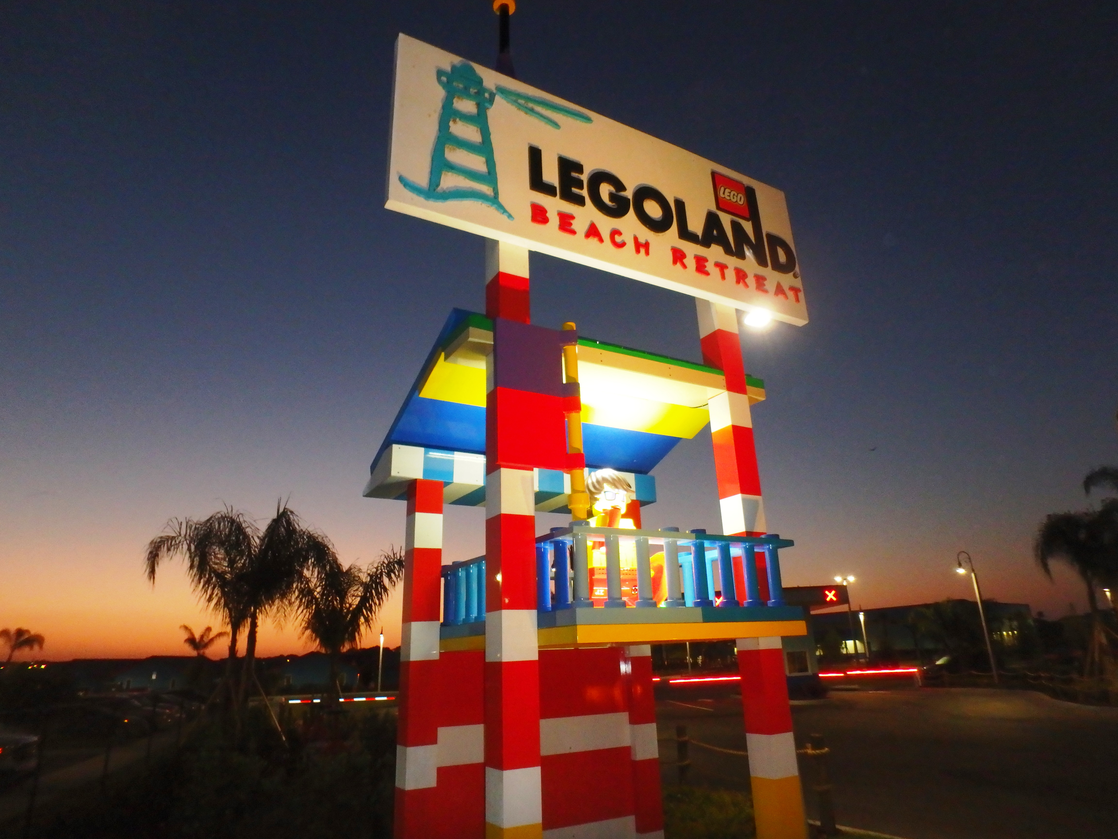 LEGOLAND Beach Retreat outdoor sign photo