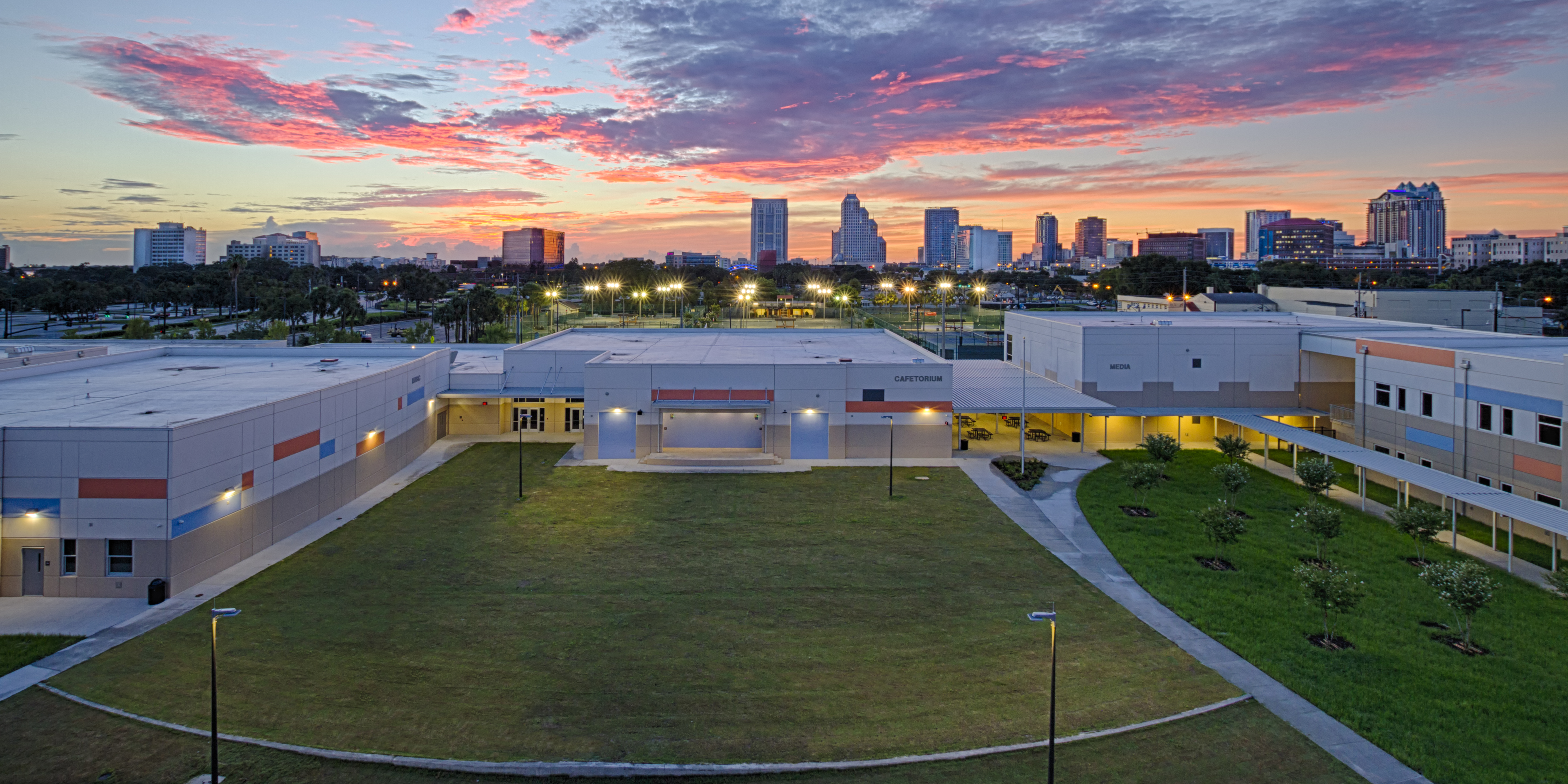 Bright Future Jobsite Photo - OCPS Academic Center For Excellence