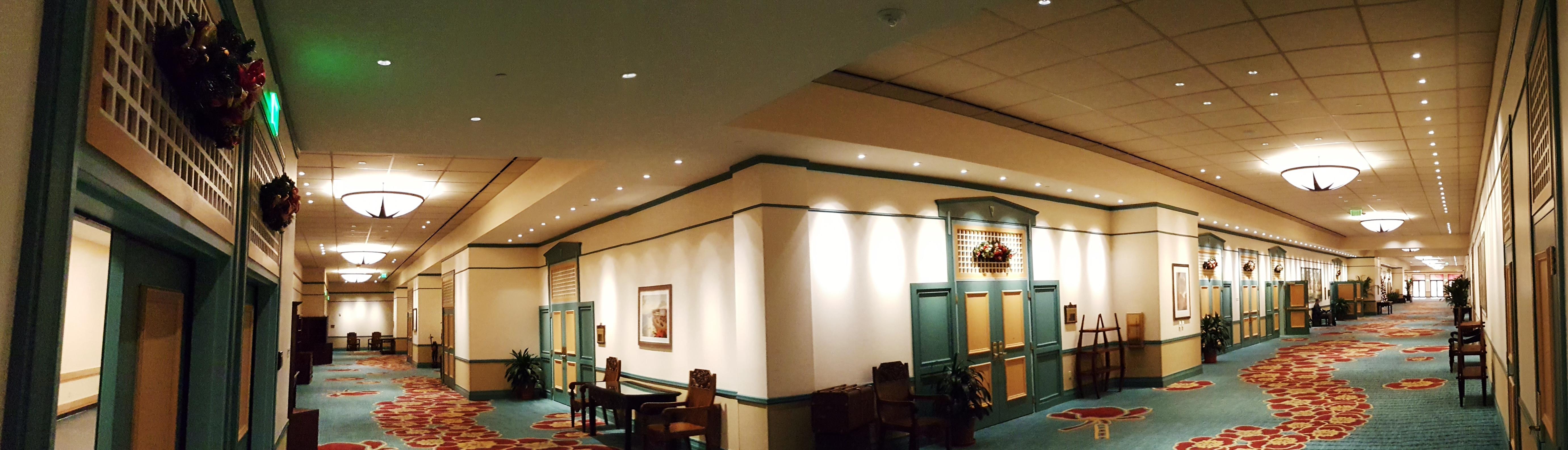 Loews Royal Pacific Ballroom Expansion - Narrative photo - common areas panoramic