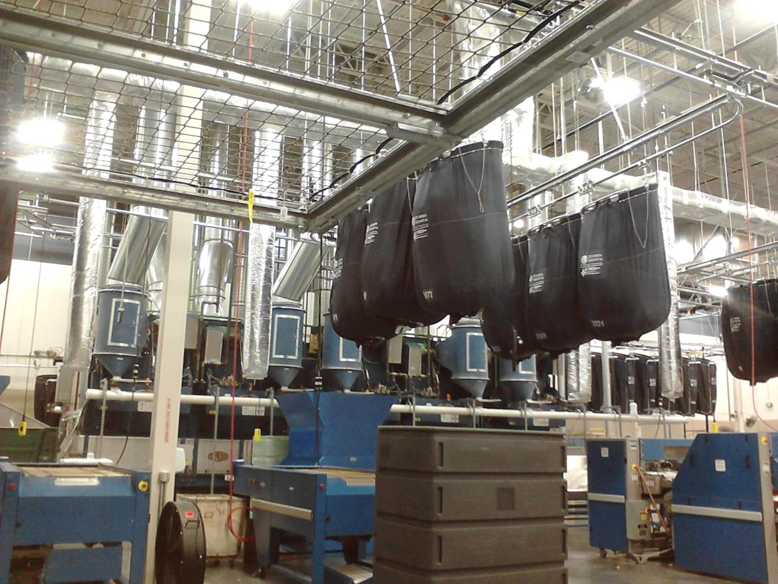Florida Hospital Laundry Facility interior photo