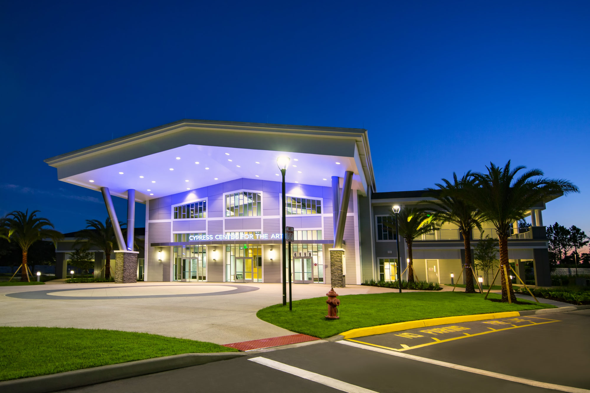 Bright Future Jobsite Exterior Photo - Windermere Prep Visual and Performing Arts Center